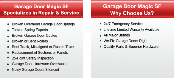 Garage Door Repair Berkeley Offers